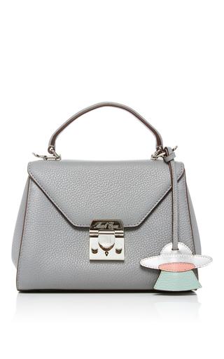 Medium mark cross light grey hadley baby flap bag 2