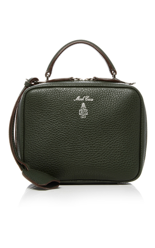 Medium mark cross green laura bag