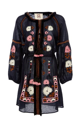 Medium figue black tula dress