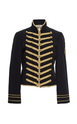 Medium figue black regiment jacket