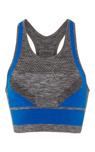 Medium lndr dark grey dynamic sports bra