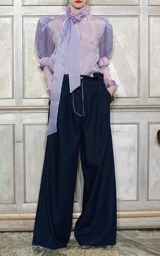 ec0e55f9f42 Natasha ZinkoDenim High Waist Wide Leg Jeans