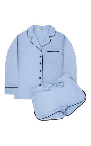 Medium sleeper light blue maria blue pajama set with shorts