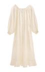 Ruffle Lounge Dress by SLEEPER Now Available on Moda Operandi