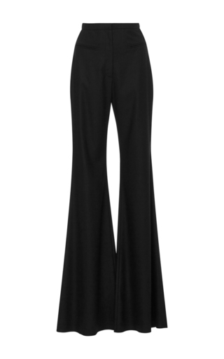 Medium hensely black wool palazzo pants