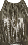Trapeze Halter Gown by HENSELY Now Available on Moda Operandi