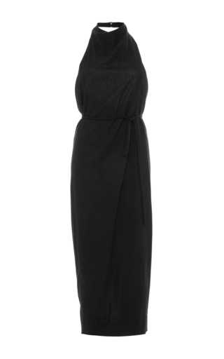 Medium hensely black pencil halter dress