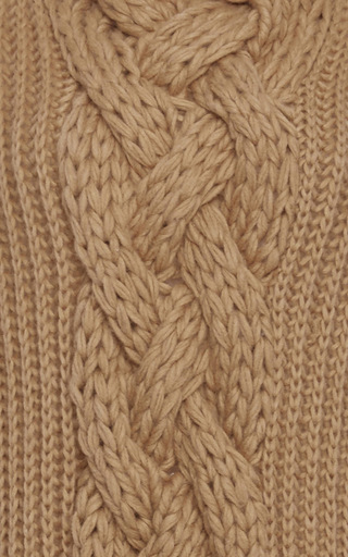 Cableknit Turtleneck Sweater by HENSELY Now Available on Moda Operandi