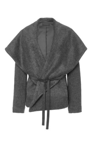 Medium hensely dark grey shawl collar jacket