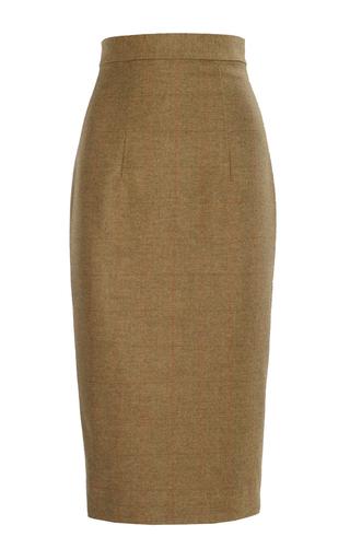 Medium lena hoschek brown essex landlady skirt