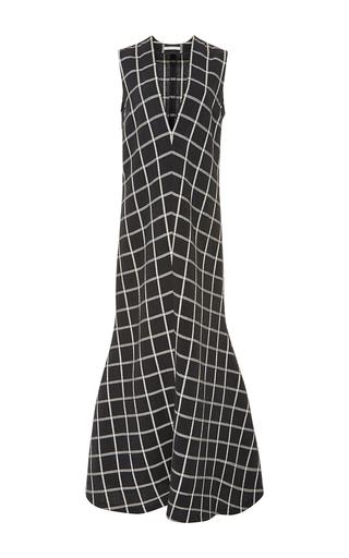 Medium perret schaad plaid niki gown