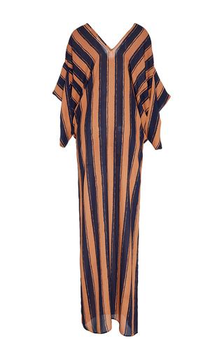 Medium jaline stripe beatriz kimono long sleeve caftan