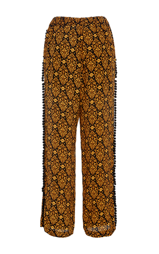 Lily Lounge Drawstring Pant by JALINE Now Available on Moda Operandi