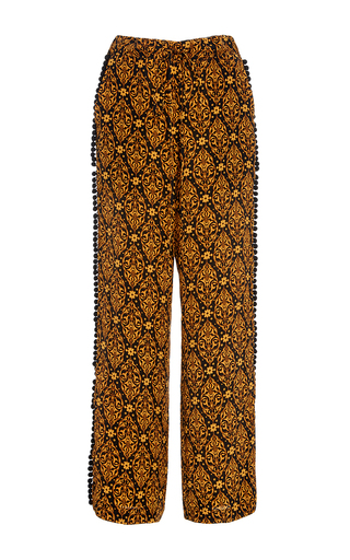 Medium jaline multi lily lounge drawstring pant