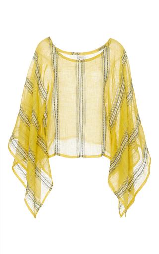 Medium jaline yellow martha scarf top 4