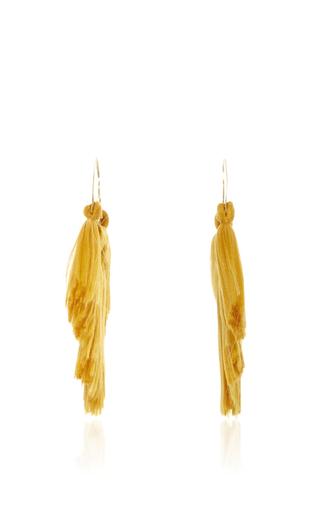 Medium jaline gold erica fan fringe earring