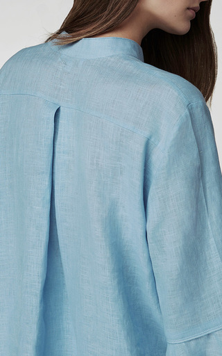 Pale Blue Loungewear Suit by SLEEPER Now Available on Moda Operandi