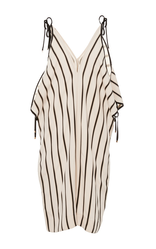 Medium rosetta getty stripe open shoulder striped romper