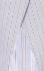 Cross Front Stripe Top by ROSETTA GETTY Now Available on Moda Operandi