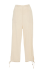 Pull On Stretch Canvas Lounge Pant by ROSETTA GETTY Now Available on Moda Operandi