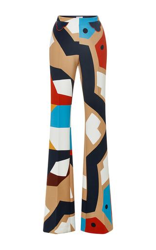 Medium parden s multi multi tarfon printed flared trousers