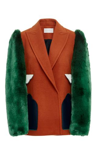 Medium parden s multi medaber faux fur jacket