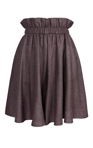 Medium marina hoermanseder purple cindy gathered skirt