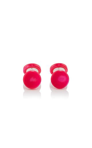 Medium samuel gassmann red mother of pearl cufflinks 7