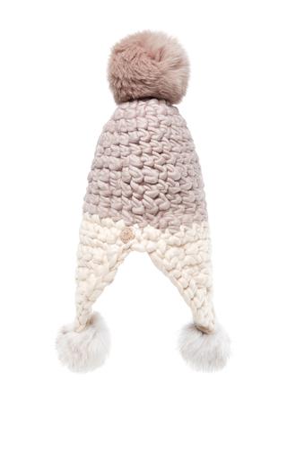 Triple Trouble Ear Flap Beanie by MISCHA LAMPERT Now Available on Moda Operandi