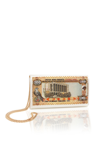 Medium preciously paris off white the emirate arab clutch