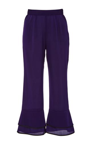 Medium piamita purple pandora cropped bell bottoms