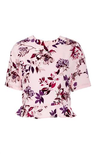 Medium piamita floral blair peplum blouse