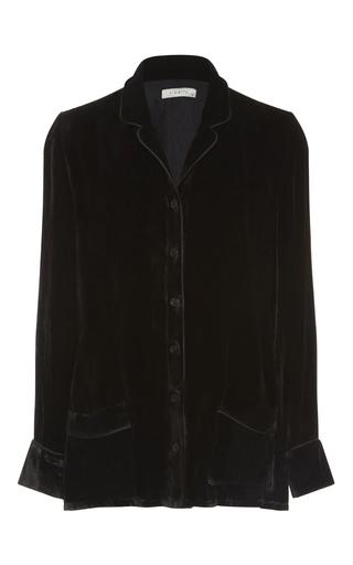 Medium piamita black annabelle velvet shirt