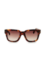Chunky Rectangular Sunglasses by LINDA FARROW Now Available on Moda Operandi