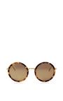 Oversized Round Sunglasses by LINDA FARROW Now Available on Moda Operandi
