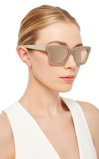 Rectangular Sunglasses by LINDA FARROW Now Available on Moda Operandi