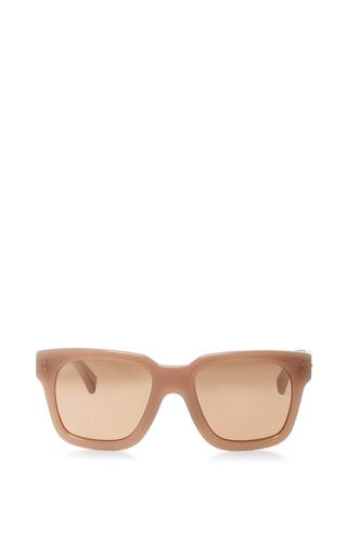 Medium linda farrow pink rectangular sunglasses