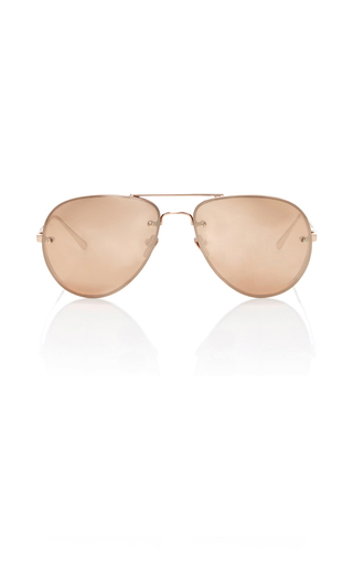 Medium linda farrow pink luxe sunglasses