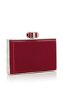 Red Rectangle Clutch by JUDITH LEIBER COUTURE Now Available on Moda Operandi