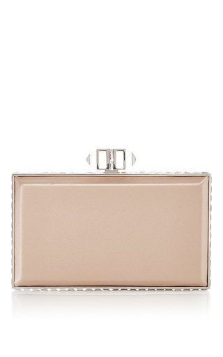 Medium judith leiber nude nude rectangle clutch