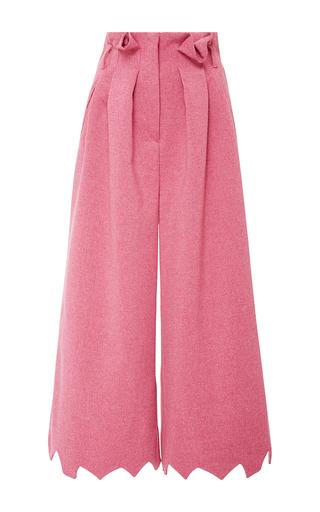 Medium tata naka print jagged edge trousers