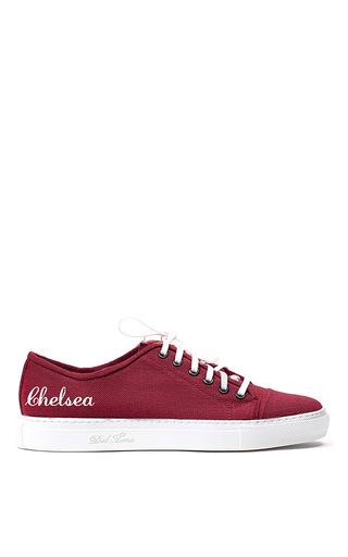 Medium del toro burgundy burgundy sardegna sneaker