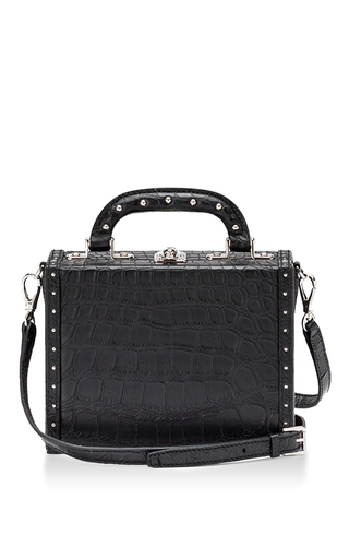 Medium bertoni black mini bertoncina suitcase 5