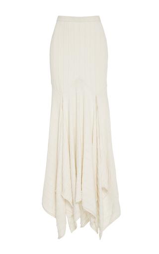 Medium kitx off white cream rib longline skirt