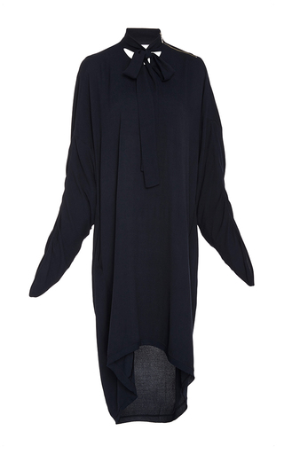 Medium kitx black fall back tie tunic