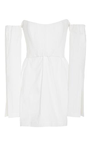 Medium kitx white corset shirt