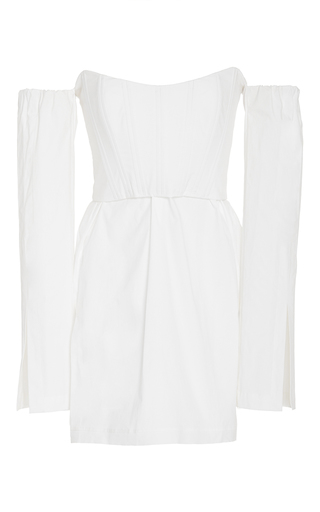 Medium kitx white corset shirt