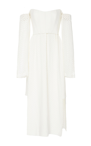 Medium kitx white release control dress