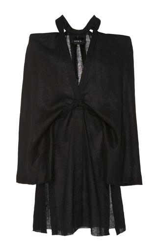 Medium kitx black kimono release shirt