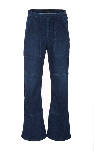 Medium rachel comey dark wash stretch denim pursue pant